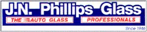 JN Phillips glass logo